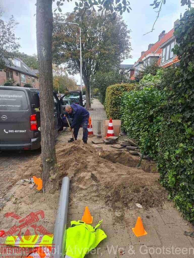 Graven riool Utrecht