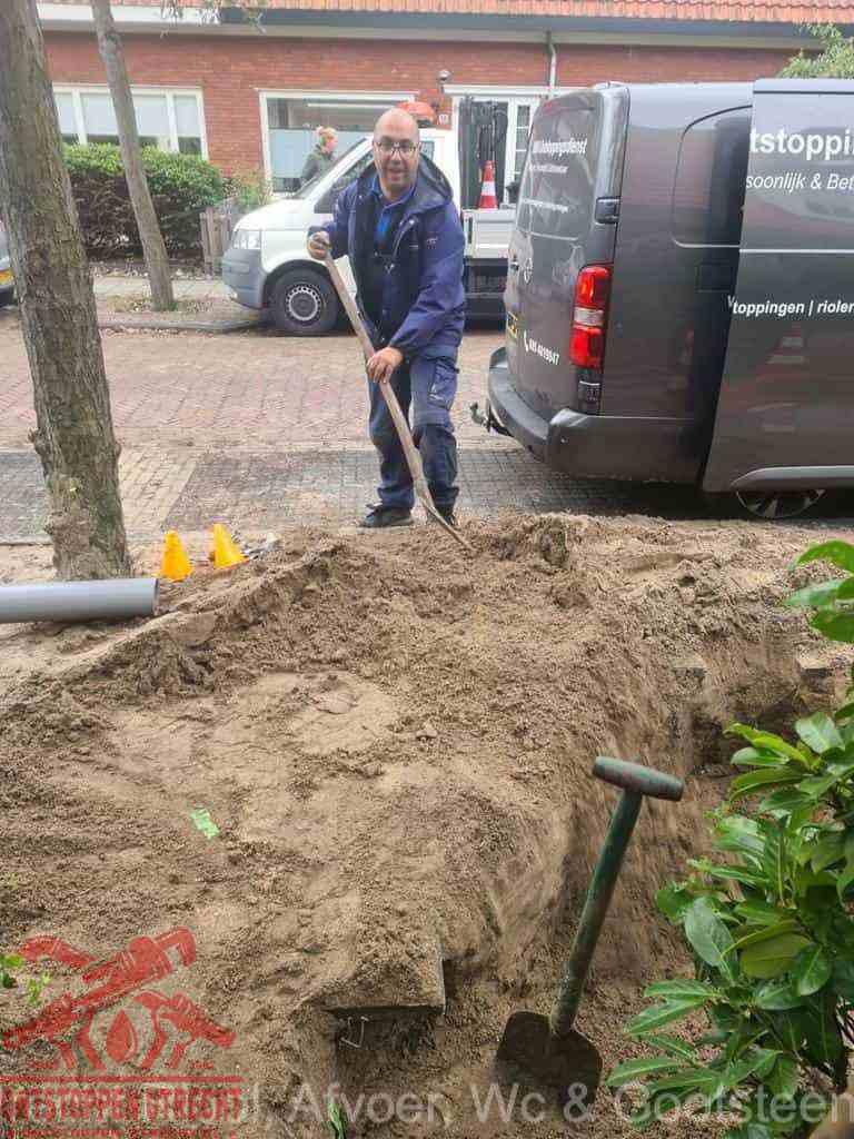 Riool ontstoppen Utrecht graven